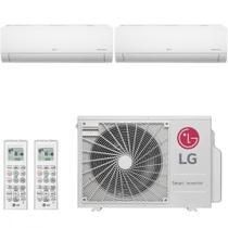Ar Condicionado Multi Split Inverter LG 18000 BTUs 2x 9000  Quente Frio A2UW18GFA2   220V -