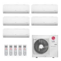 Ar Condicionado Multi Split Inverter LG 1x7000 + 1x9000 + 3x12000  Q/F 220V A5UW40 -
