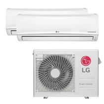 Ar Condicionado Multi Split Inverter LG 24.000 Btus (1x Evap 12.000 + 1x Evap 24.000) Quente e Frio 220v -