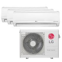 Ar Condicionado Multi Split Inverter LG 24.000 Btus (3x Evap 12.000) Quente e Frio 220v -