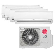 Ar Condicionado Multi Split Inverter LG 30.000 Btus (3x Evap 7.000+ 1x Evap 12.000) Quente e Frio 220v -