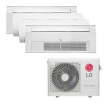 Ar Condicionado Multi Split Inverter LG 30.000 BTUS Quente/Frio 220V +1x Cassete 1 Via LG 9.000 BTUS +2x High Wall LG Com Display 9.000 BTUS +1x Casse -