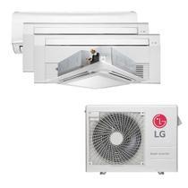 Ar Condicionado Multi Split Inverter LG 30.000 BTUS Quente/Frio 220V +1x High Wall LG Libero 7.000 BTUS +2x Cassete 1 Via LG 12.000 BTUS +1x Cassete 4 -