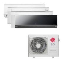 Ar Condicionado Multi Split Inverter LG 30.000 BTUS Quente/Frio 220V +1x High Wall LG Libero 7.000 BTUS +2x Cassete 1 Via LG 9.000 BTUS +1x High Wall -
