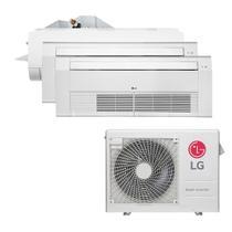 Ar Condicionado Multi Split Inverter LG 30.000 BTUS Quente/Frio 220V +2x Cassete 1 Via LG 9.000 BTUS +1x High Wall LG Com Display 9.000 BTUS +1x Casse -