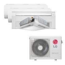 Ar Condicionado Multi Split Inverter LG 30.000 BTUS Quente/Frio 220V +2x High Wall LG Com Display 9.000 BTUS +1x Cassete 1 Via LG 12.000 BTUS +1x Cass -
