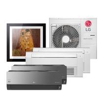 Ar Condicionado Multi Split Inverter LG Artcool 2x7.000 e Gallery 9.000 e Cassete 1 Via 12.000 e 18.000 BTU/h Quente e Frio A5UW36GFA2  220 Volts -