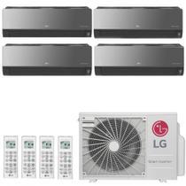 Ar Condicionado Multi Split Inverter LG ARTCOOL 30000 BTUs 3x 9000  1x 7000 Quente Frio A4UW30GFA2   220V -