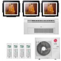 Ar Condicionado Multi Split Inverter LG ARTCOOL Gallery 36000 BTUs 2x 9000  1x 12000  1x Cassete 12000 Quente Frio A5UW36GFA2  220V -