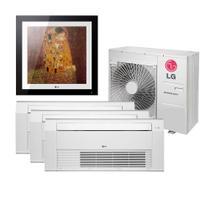 Ar Condicionado Multi Split Inverter LG Gallery 12.000 e Cassete 1 Via 9.000 e 12.000 e 18.000 BTU/h Quente e Frio A4UW30GFA2.AWGZBRZ  220 Volts -
