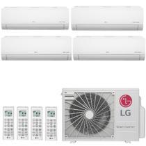 Ar Condicionado Multi Split Inverter LG SMART 30000 BTUs 3x 9000  1x 7000 Quente Frio A4UW30GFA2  220V -