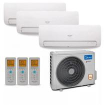 Ar Condicionado Multi Split Inverter Midea 36000 BTUs 2x Evap 9000  1x Evap 18000 Quente Frio 42MBMA18M5  220V -