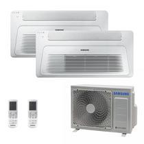 Ar Condicionado Multi Split Inverter Samsung FJM 17.000 BTUS Quente/Frio 220V + 2x Cassete 1 Via Wind Free 12.000 BTUS -