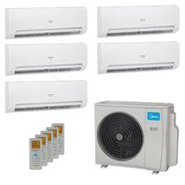 Ar-Condicionado Multi Split Inverter Springer Midea 42.000 BTUs (3x Evap HW 9.000 + 1x Evap HW 12.000 + 1x Evap HW 18.000) Quente/Frio 220V -
