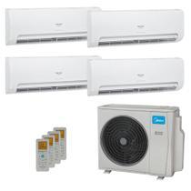 Ar-Condicionado Multi Split Inverter Springer Midea 42.000 BTUs (3x Evap HW 9.000 + 1x Evap HW 24.000) Quente/Frio 220V -