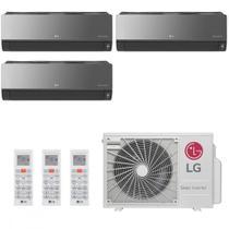 Ar Condicionado Multi Split LG ARTCOOL 30000 BTUs 2x 9000  1x 12000 Quente Frio A4UW30GFA2  220V -