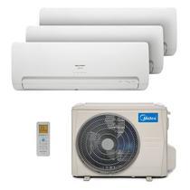 Ar Condicionado Multi Tri Split Hw Inverter Springer Midea 2X9000 1X12000 Btus Quente/Frio 220V 38MBTA27M5 -