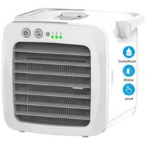 Ar condicionado portatil de ar com nano filtros 3 em 1  mini ventilador purificador usb bivolt - Makeda