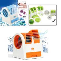 Ar Condicionado Portatil Mini Ventilador Aromatizador Refrigerador 3 Em 1 Umidificador Portatil Usb - Makeda