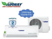 Ar Condicionado Split 12000 Quente E Frio 220v - Airway