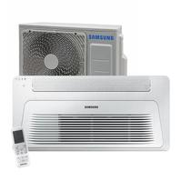 Ar Condicionado Split Cassete Inverter 1 Via Samsung Wind Free 12.000 BTUs Quente/Frio 220v -