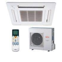 Ar Condicionado Split Cassete Inverter Fujitsu 32.000 BTU/h Quente e Frio AUBA36LCL -