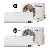 Ar Condicionado Split Digital Wind Free 9.000 BTU/h + 12.000 BTU/h - Quente e Frio - Samsung