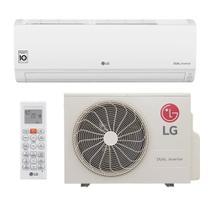 Ar Condicionado Split Hi Wall Inverter LG DUAL Voice 9000 BTUs Quente Frio S4W09WA51A  220V -