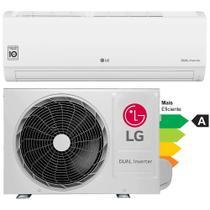 Ar-condicionado Split Hi-Wall LG Dual Inverter Compact 9.000 Btu/h Frio - 220V -