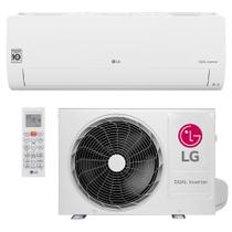 Ar Condicionado Split Hi Wall LG DUAL Inverter Voice 12000 BTUs Quente e Frio  S4W12JA31A  220V -