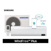 Ar Condicionado Split Hi Wall Samsung Inverter WindFree  Plus 12.000 BTU/h Quente e Frio Monofásico AR12TSEABWKNAZ 220 Volt -