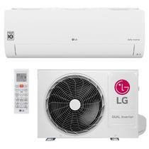 Ar Condicionado Split Inverter LG Hi Wall DUAL Voice 12000 BTUs Quente Frio S4NW12JA31A  220V -