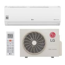 Ar Condicionado Split Inverter LG Hi Wall DUAL Voice 9000 BTUs Quente Frio S4NW09WA51A  220V -