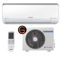 Ar Condicionado Split Inverter Samsung Digital 8-Polos Quente e Frio High Wall 9.000 Btus 220v