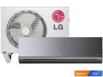 Ar Condicionado Split LG 12.000 BTUs Quente/Frio - Libero Art Cool AS-W122BRZ0 Ionizador Ion Care