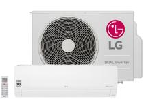 Ar-condicionado Split LG 18.000 BTUs Frio - Dual Inverter Voice S4-Q18KL31A