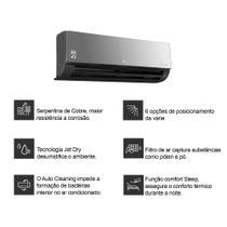 Ar Condicionado Split LG Dual Art Cool Inverter 18000 Btus Quente e Frio 220v - Ar Condicionado Lg