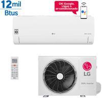 Ar Condicionado Split LG Dual Inverter Voice 12000 Btus Quente e Frio 220v Monofásico - Ar Condicionado Lg