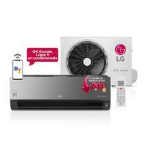 Ar Condicionado Split LG Dual Inverter Voice ArtCool 12000 BTUs Quente/Frio 220V -