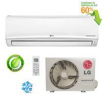 Ar condicionado split libero e+ inverter lg 11500 btus frio 220v - Lg