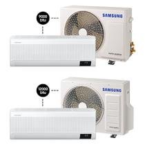 Ar Digital Inverter Wind-Free Plus 9.000 BTU/h + 12.000 BTU/h - Quente e Frio - Samsung