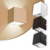Arandela 2 fachos Externa E Interna Para Lâmpada G9 Alumínio - Lcg