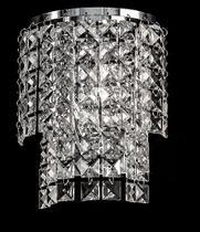 Arandela de Cristal Legítimo K9 Transparente - (5048 T) - Dubai
