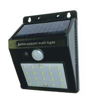 Arandela de Sobrepor Solar IP65 Led 6W 6500K - MB LED - D11075 -