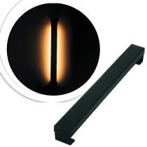 Arandela Fit Slim Externa E Interna Design Fino + Led Quente - E-LED BRASIL
