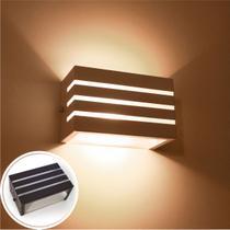 Arandela Frisada pequena para lâmpada g9 marrom interno / externo st548 - STARLUMEN