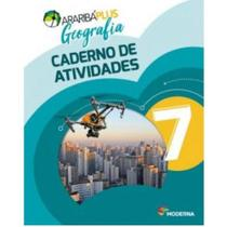 Araribá Plus Geografia 7 Ano Caderno de Atividades - Moderna -