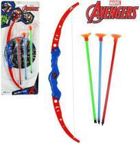 Arco e Flecha Mini Avengers c/ 3 Munições - 129428 - Etilux -