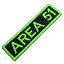 Área 51 Alien ET UFO OVNI Patch Bordado Para Uniforme Camisa - Br44