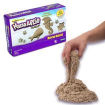 Areia de Modelar Kinetic Sand 283g Marron Natural - Sunny
